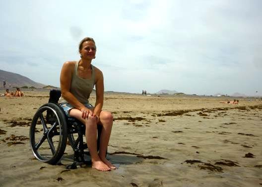 1-Christiane im Rollstuhl